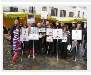 La France Insoumise  dénonce les paradis fiscaux dans les rues de Dijon !