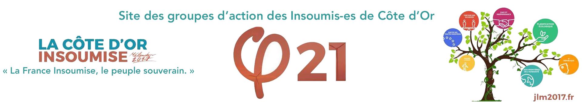 Site de la Côte d'or Insoumise